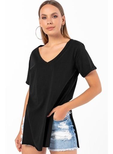 Emjey Tişört Siyah